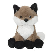 Lambs & Ivy Painted Forest Brown/White Plush Fox Stuffed Animal - Knox