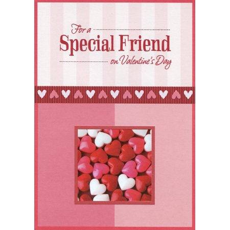 Designer Greetings Candy Hearts: Special Friend Valentine's Day Card](Big Valentines Day Cards)