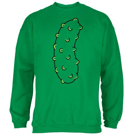 Halloween Vegetable Pickle Costume Mens Sweatshirt - Ma Halloween Attractions