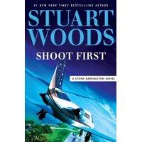 Stone Barrington Novel: Shoot First (Paperback)(Large Print)