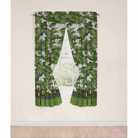 John Deere Drapery Curtain Panel Set Of 2 Walmart Com