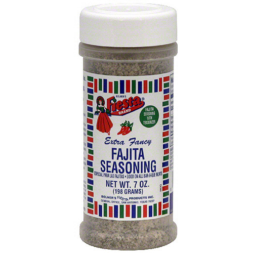 Fiesta Brand Fajita Seasoning With Tenderizer, 7 oz (Pack of 6)