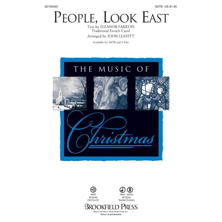 Brookfield People, Look East CHAMBER ORCHESTRA ACCOMP Arranged by John Leavitt