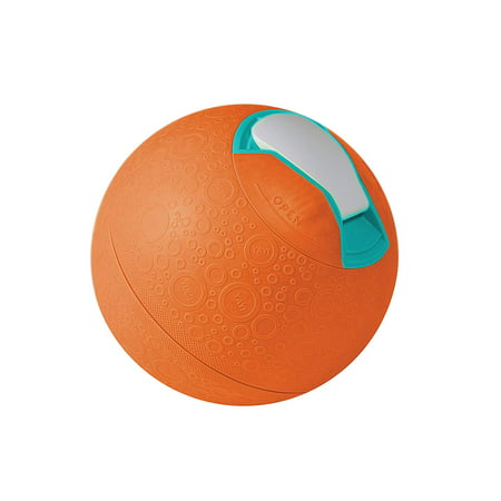 ! SoftShell Ice Cream Ball, Orange, Pint Size, Soft-sided ball makes approximately one pint of home-made ice cream with about 25 minutes of active play By YayLabs