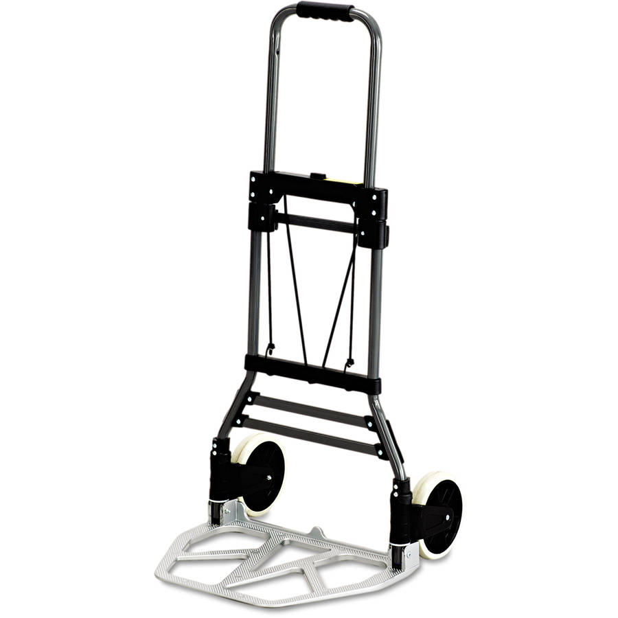 Safco Hide-Away Aluminum Hand Truck, 250lb Capacity