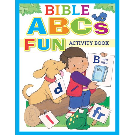 Bible ABCs Fun Activity Book - Halloween Bible School Activities