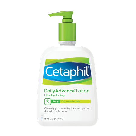 Cetaphil Dry Sensitive Daily Advance Ultra Hydrating Lotion, 16.0 fl