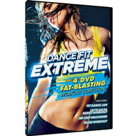 DANCE FIT EXTREME-4 FAT BLASTING WORKOUTS (DVD/4 DISC)