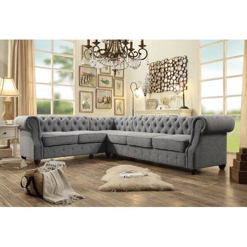 Mulhouse furniture olivia sectional collection - Boutique free mulhouse ...
