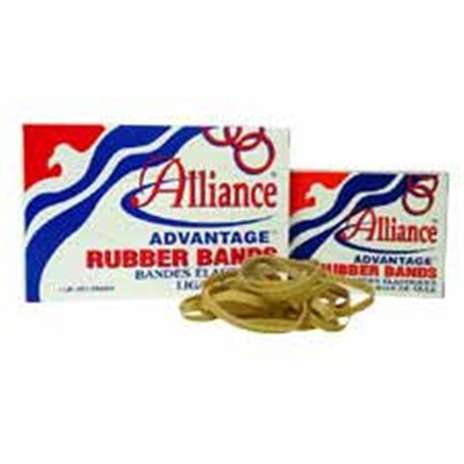 "Advantage Rubber Bands Size 33 1Lb 3-1 2""X1 8"" Natural 26335 by ALLIANCE RUBBER"