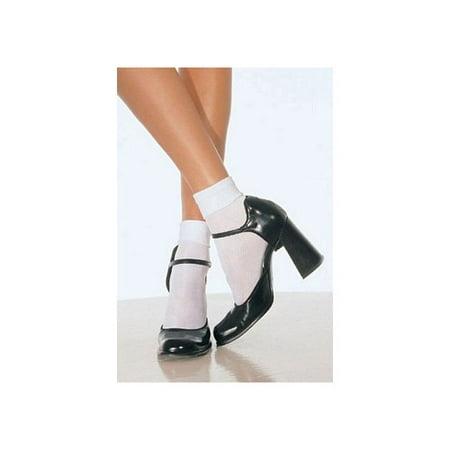 Nylon Anklet Socks 3022 Black,White