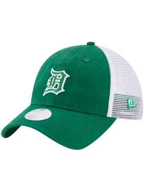 buy popular e4039 adda6 Product Image Detroit Tigers New Era Women s Trucker Shine St. Patrick s  Day 9TWENTY Adjustable Hat - Green