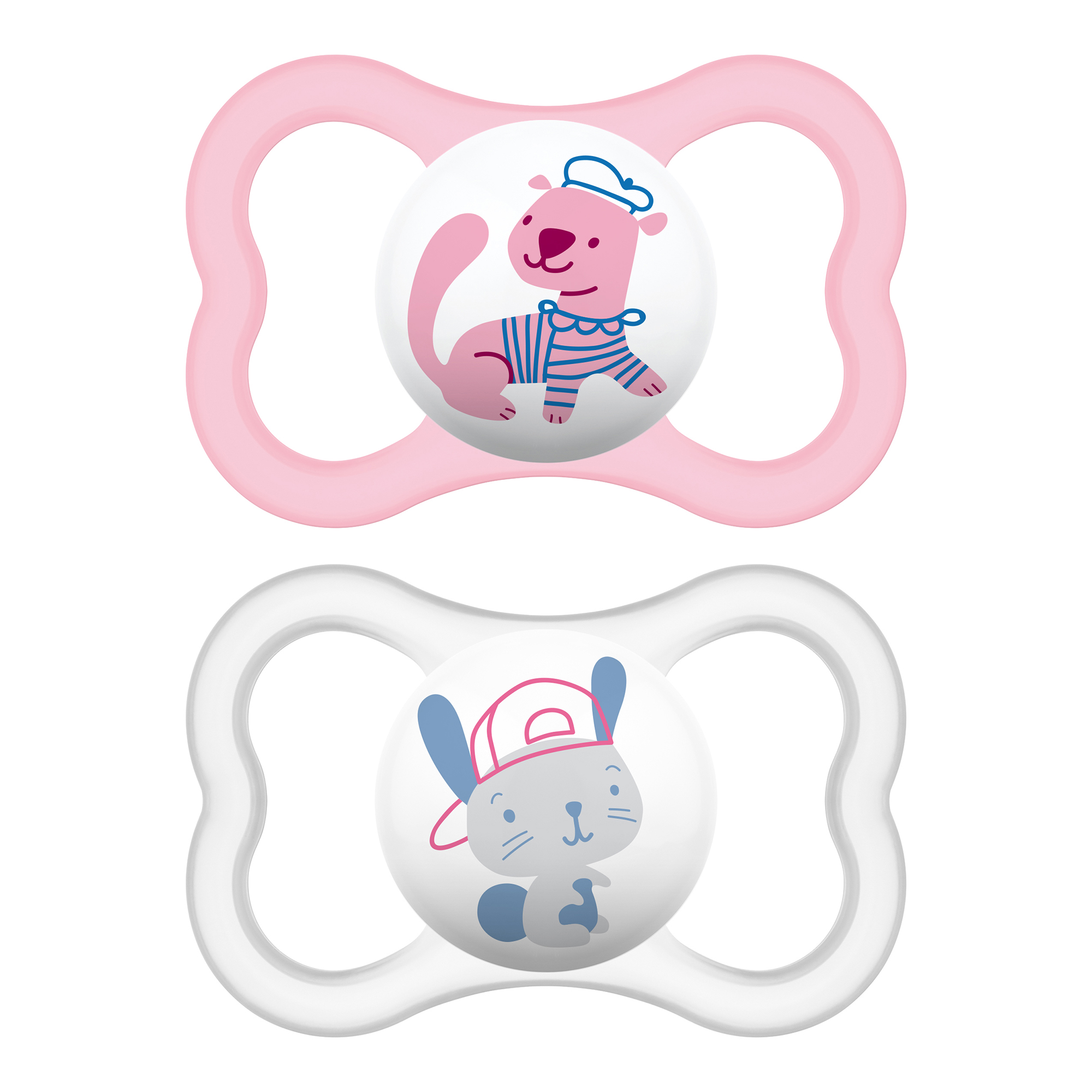 Unisex Baby Pacifier 16+ Months Air Night /& Day Design Collection Best Pacifier for Breastfed Babies MAM Sensitive Skin Pacifiers 3Count