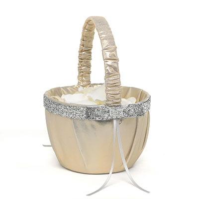 Hortense B Hewitt 25322 Metallic Sparkle Basket
