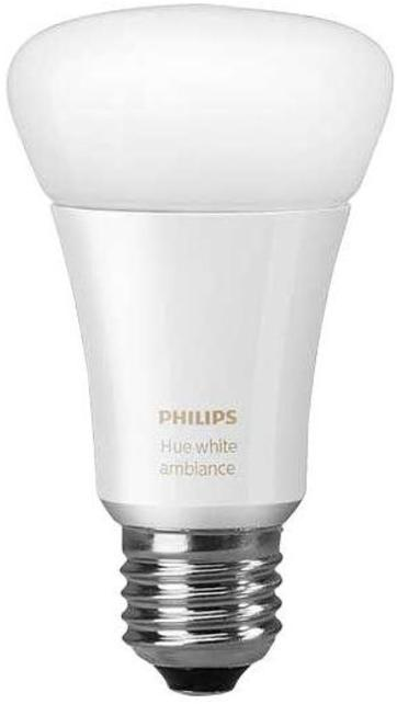 Philips Hue White Ambiance A19 LED Single Bulb by Philips