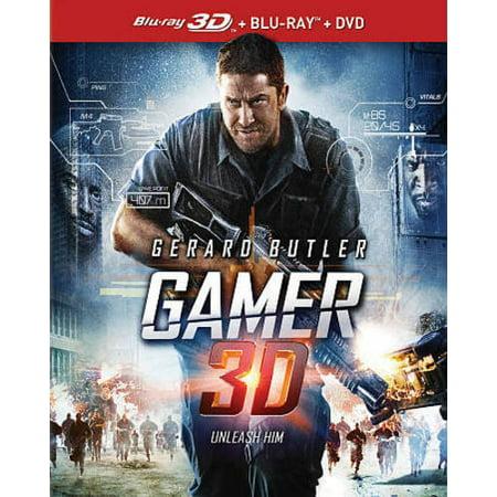 Gamer  Blu Ray   Canadian  3D