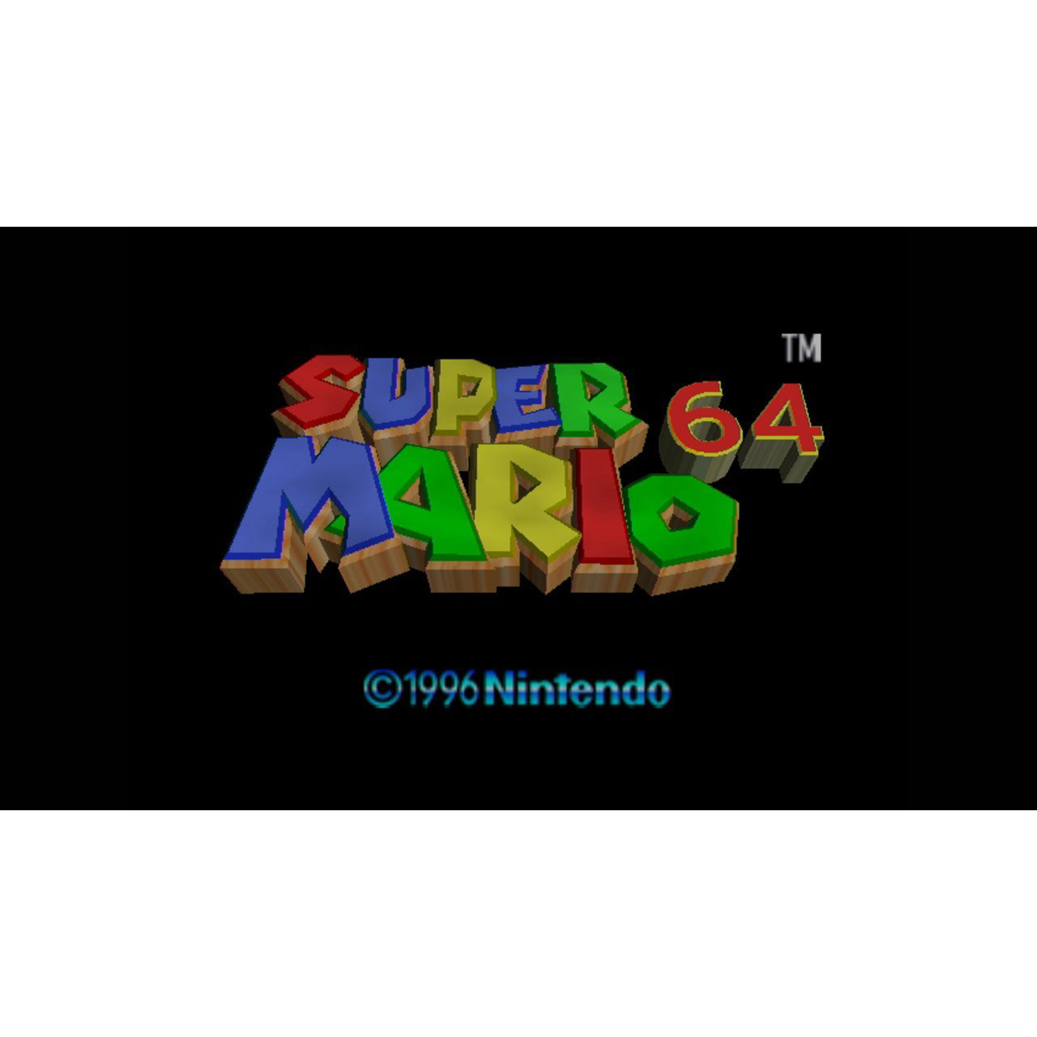 Super Mario 64, Nintendo, WIIU, [Digital Download], 0004549666101
