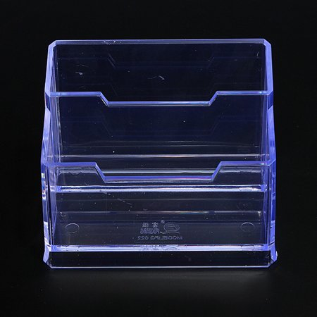 123tier clear plastic business card holder stand display counter 123tier clear plastic business card holder stand display counter countertop 2 tier color walmart colourmoves