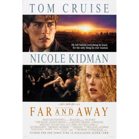 Far And Away Poster Movie B  27X40