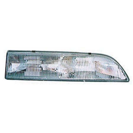 FO2503110 Right Headlamp Assembly Composite for 89-93 Ford