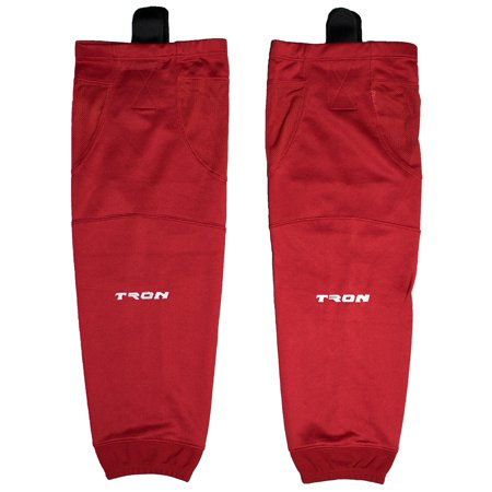 Tron SK100 Dry Fit Ice Hockey Socks (Red) - Use Dry Ice Halloween Punch