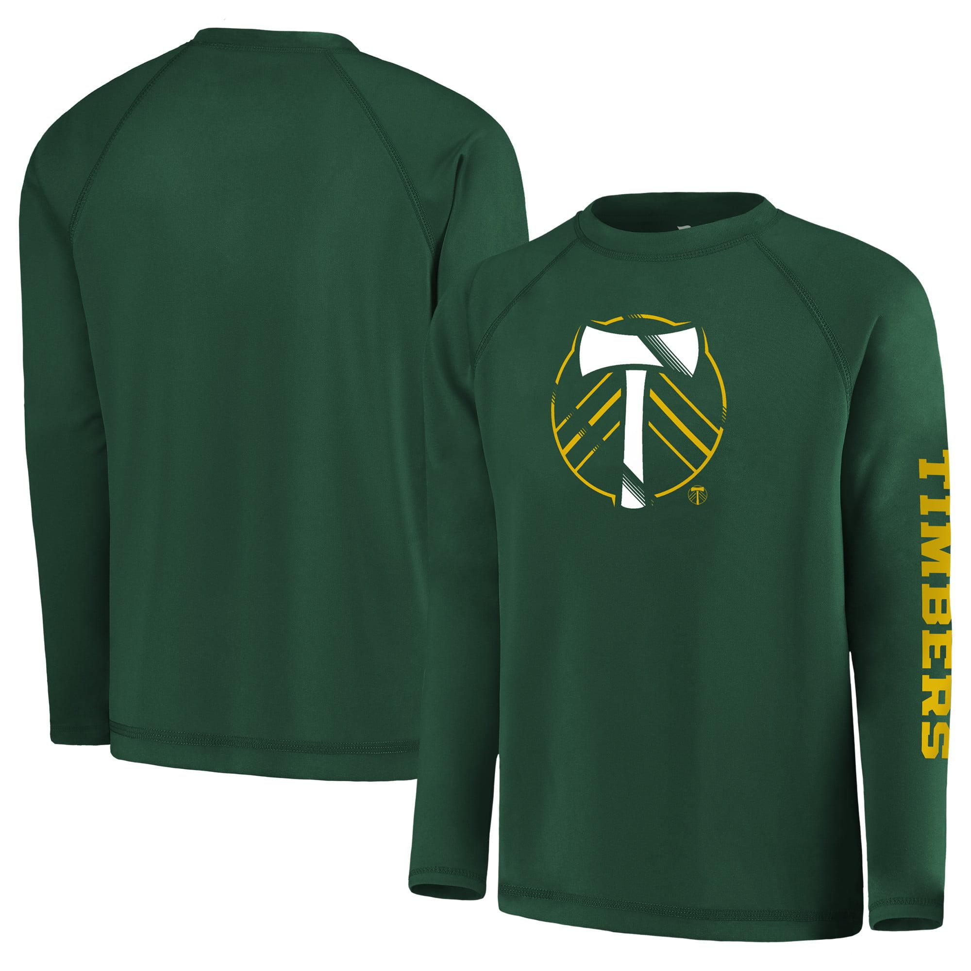 Portland Timbers Fanatics Branded Youth Vital to Success Long Sleeve T-Shirt - Green
