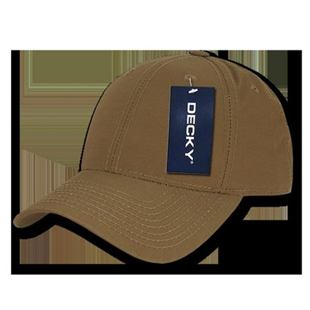 Decky 240-COY Low Crown Structured Ripstop Caps, Coyote Multi 240 Caps