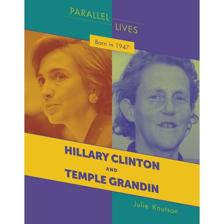 21st Century Skills Library: Parallel Lives: Born in 1947: Hillary Clinton and Temple Grandin (Paperback) Hillary Clinton Button Pin
