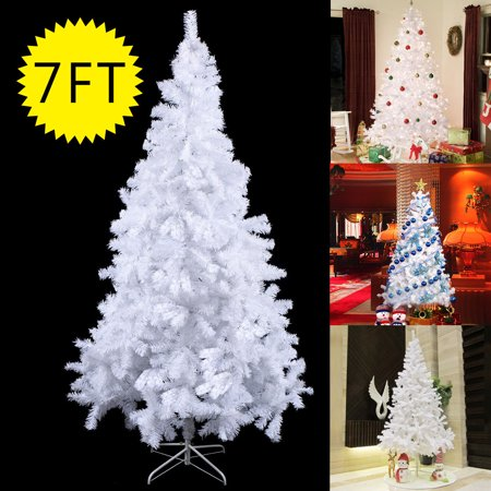 Costway 7ft Artificial Pvc Christmas Tree W Stand Holiday