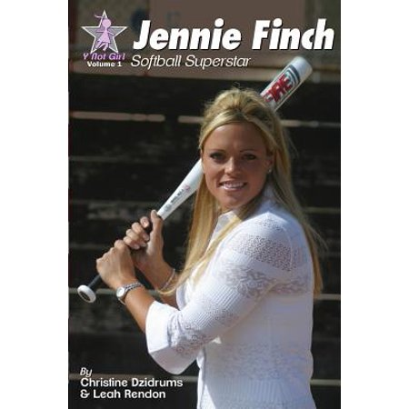 David Finch Cover - Jennie Finch : Softball Superstar