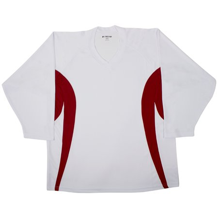 Firstar Arena Hockey Jersey (White/Red)