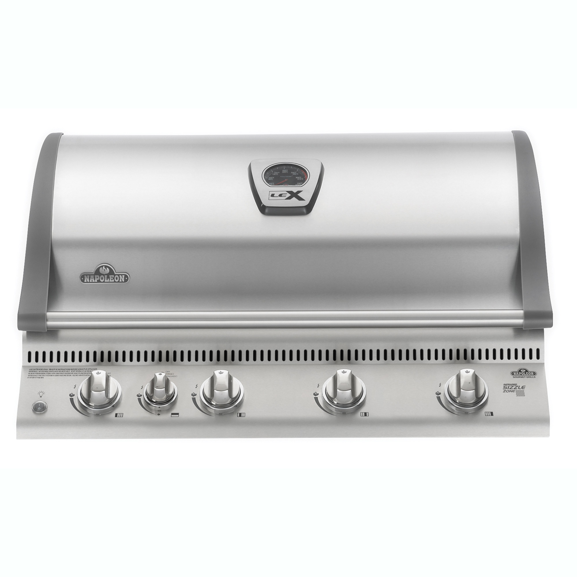 Napoleon 21'' Built In LEX 605 Stainless Steel 5 Burner Propane Gas Grill Head by Napoleon Products