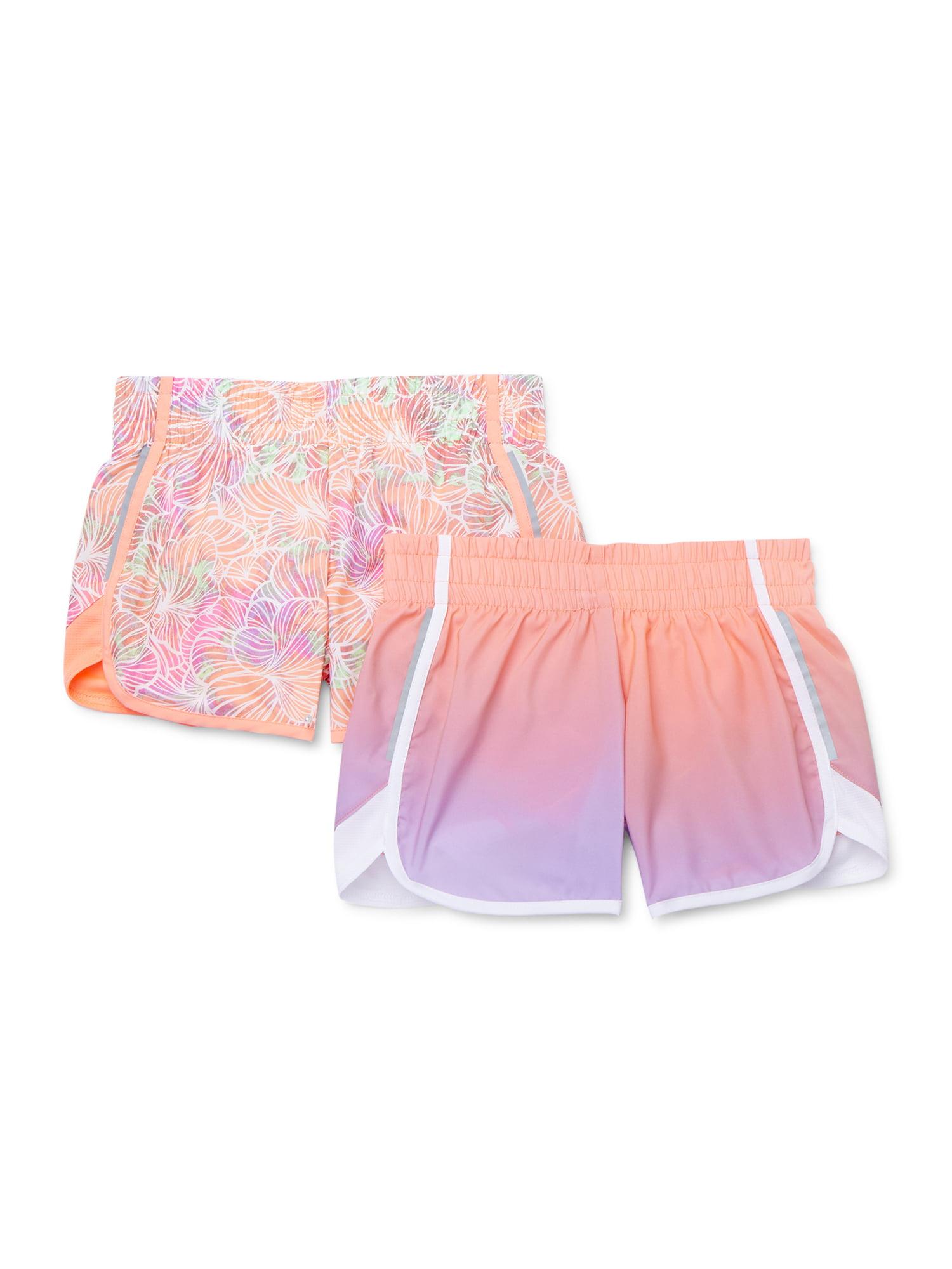 Essentials Girls 2-pack Active Running Shorts