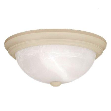 Millennium Lighting 563 2 Light Flush Mount Ceiling Fixture (Bronze Bathroom Ceiling Light)