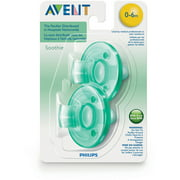 Philips Avent Soothie Pacifiers, SCF190/01, Green, 2 count