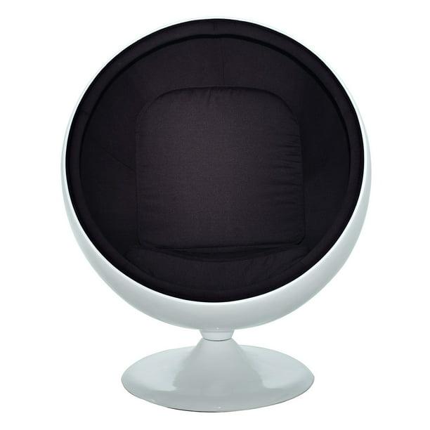 Lounge Stoel Retro.Modway Kaddur Fiberglass Lounge Chair Multiple Colors Walmart