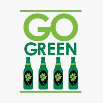 Go Green Irish Beverage Napkins , 4PK (Irish Napkins)