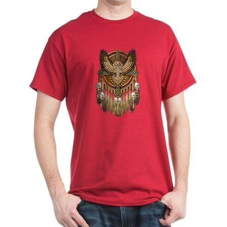 4f8026c3 CafePress - Native American Owl Mandala 1 - 100% Cotton T-Shirt -  Walmart.com