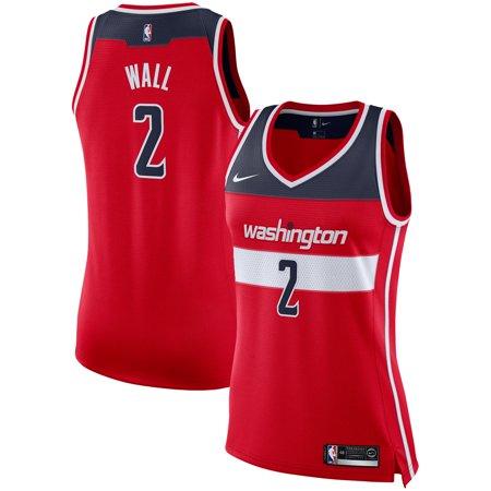 John Wall Washington Wizards Nike Women's Swingman Jersey - Red - Icon