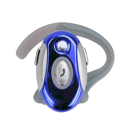 Wireless Bluetooth Headset Business Handsfree Earphone For Motorola (Blue)