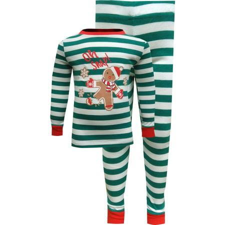 Boys Gingerbread Man Printed Sleepwear $32 4 (Green Mens Sleepwear)