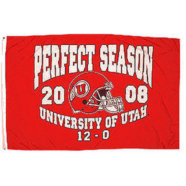 Utah Utes Undefeated 3' x 5' Pole Flag