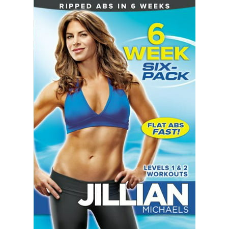 Jillian Michaels: 6 Week Six Pack (DVD) (Jillian Michaels The Biggest Winner Cardio Kickbox)