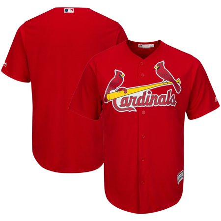 St. Louis Cardinals Majestic Big & Tall Alternate Cool Base Team Jersey - Red