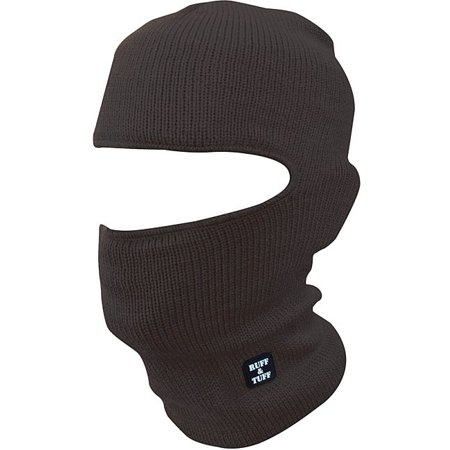 7c005ea6cc86 Quiet Wear Men's Black Ruff & Tuff Mask - Walmart.com