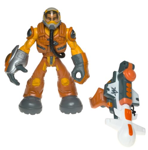 Major Powers and The Star Squad Captain Jumpjet Flier Air Power Division Action Figure... by