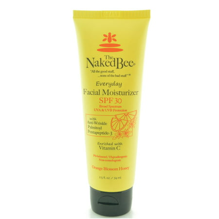 The Naked Bee Orange Blossom Honey Everyday Facial Moisturizer SPF 30