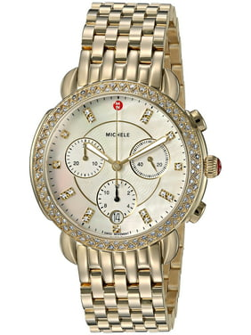 Michele Women's Sidney Chronograph Diamond 38mm Watches