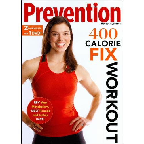 GAIAM INC Prevention Fitness Systems: 400 Calorie Fix Workout