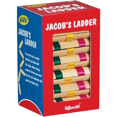 Jacob's Ladder, The Jacob's Ladder makes use of a timeless optical illusion to enchant and confound children and adults alike. By Toysmith (Jacob's Ladder Toy)